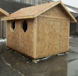 Wood Sheds 8X10  Playhouse Available