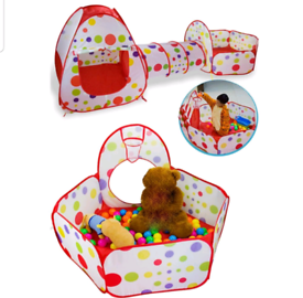 BN Baby Ball pit tunnel and Tent