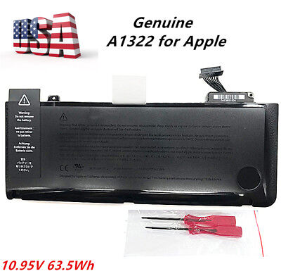 Apple Oem Macbook Pro - Genuine OEM A1322 Battery For Apple MacBook Pro 13