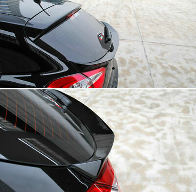 Automotiveapple Carbon Wrapping Rear Trunk Wing GT Lip Spoiler for 2017 2020 Kia Stinger
