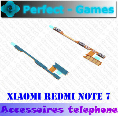 Xiaomi redmi Note 7 Nappe cable bouton ON OFF volume power button...