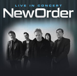 New Order Concert Tickets - SOLD PPU