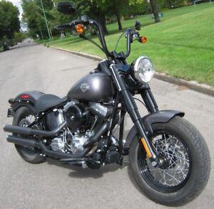 2014 Harley Davidson FLS 103 Cubic Inch Slim ONLY 267 KM!!!!