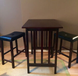 Bistro Table Set (3pc) - $70 OBO - Pick Up Only