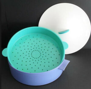 Vintage Tupperware 3-Piece Micro-Steamer