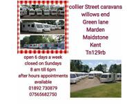 2 , 4, 5, 6 BERTH CARAVANS WITH WARRANTY Maidstone tonbridge kent