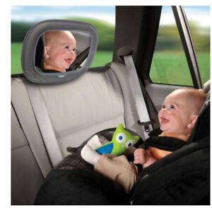 Miroir pour bébé en auto