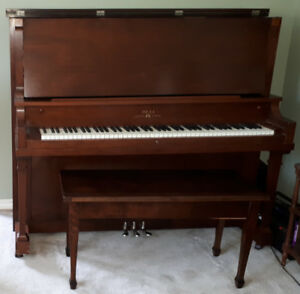 Upright Piano built by the BELL PIANO & ORGAN CO LIMITED
