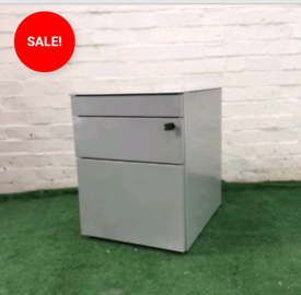 USED OFFICE FURNITURE CHEAP METAL PEDESTALS STORAGE