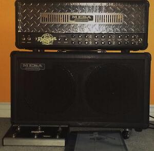 Like New Mesa Solo Dual Rectifier V2 100Watt Amp+2x12 Boogie Cab