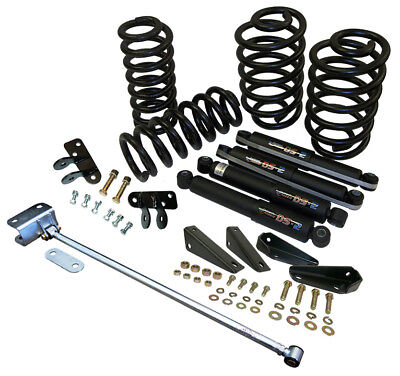 "1965-72 Chevy C10 Truck Lowering Kit w/ Deluxe Trac Bar - 3"" Front  5"" Rear  for sale  Shipping to Canada"
