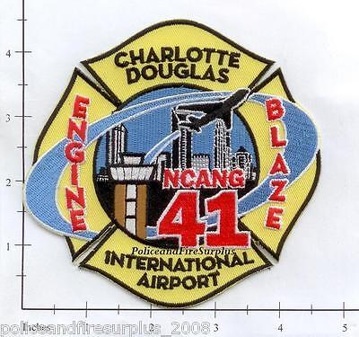 North Carolina - Charlotte Douglas Engine 41 Interntl Airport NC Fire Dept Patch