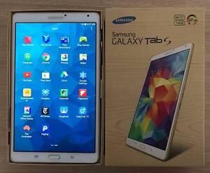 "Retina Samsung Galaxy Tab S 8.4"" (Wi-Fi) - 16GB Dazzling White Rockdale Rockdale Area Preview"