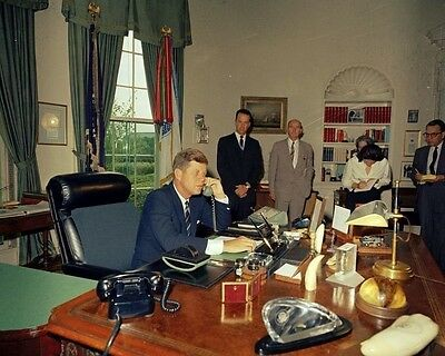 President John F. Kennedy calls former President Harry Truman New 8x10 Photo