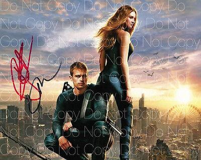 Shailene Woodley Theo James Divergent 8X10 Photo Picture Signed Autograph Rp