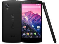 LG Nexus 5. 16gb. On 02, giffgaff and tesco network.