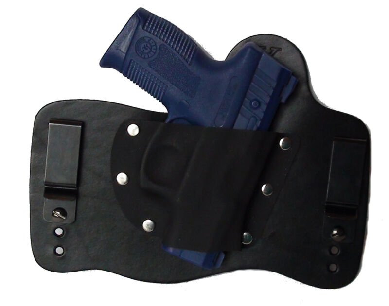 FoxX Leather & Kydex IWB Holster Taurus Pro PT111, PT140, PT145 Holster RH Black