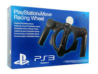 Play Station 3 Move Racing Wheel PS4 . Brand NEW