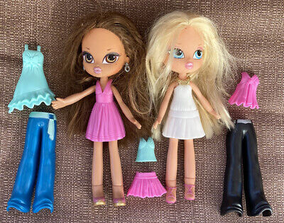 BRATZ KIDZ Kids Lot of 2 Dolls with Outfits, Shoes & Accessories