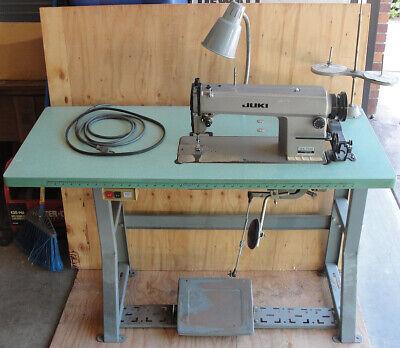 Juki Ddl-5550 Industrial Single Needle Lockstitch Sewing Machine