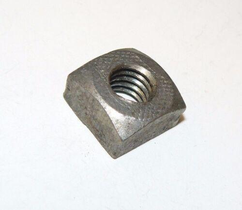7/16-14 Square Nuts - Coarse Thread - Plain Finish - Lot of 50 Pcs.