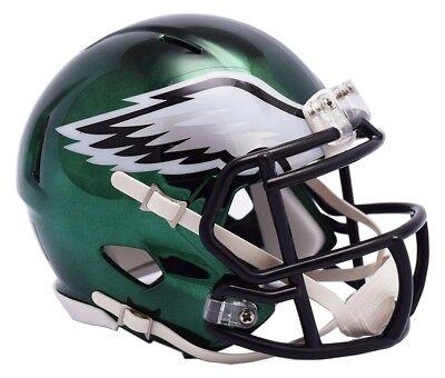 ILADELPHIA EAGLES Mini Speed Chrome Footballhelm Helmet  (Nfl Eagles Helm)