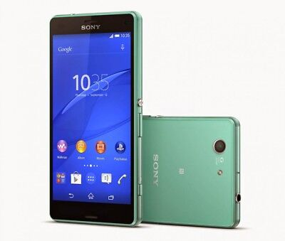 """Compact Triband Cell Phone - 4.6"""" Sony Ericsson XPERIA Z3 Compact D5803 4G LTE 16GB Radio Unlocked Smartphone"""