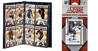 Nhl Winnipeg Jets Licensed 2011 Score Team Set And Storage Album