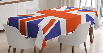 Union Jack Tischdecke, Britisches Loyal Symbol ohne Verblassen