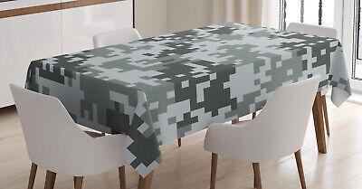 el-Effekt Digital-Grau Pflegeleicht (Camo Tisch Decken)