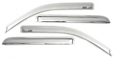 Auto Ventshade 684966 Chrome Ventvisor Deflector 4 pc.