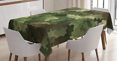 seffekt Abstrakt In- und Outdoor Bereich (Camo Tisch Decken)