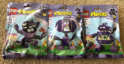LEGO Mixels Series 6 *41551 Snax- 41552 Berp- 41553 Vaka-Waka* New Sealed