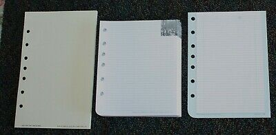 Classic Desk Planner Accessory 150 34 78 Cut 7-hole Notes Pages Lot 16
