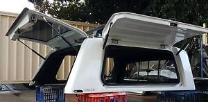 NEAR NEW FORD RANGER ALPHA CME DUAL CAB CANOPY + HD RHINO RACKS Yagoona Bankstown Area Preview