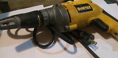 Dewalt Vsr Drywall Screwdriver DW274 used but works GREAT. Dewalt Drywall Screwdriver