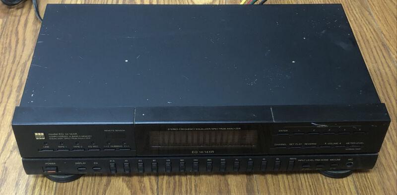 BSR EQ 14/14XR Computerized 14-Band 5 Memory Equalizer / Spectrum Analyzer
