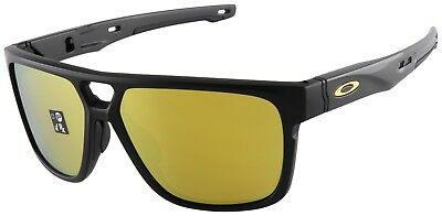 Oakley Crossrange Patch Sunglasses OO9382-0460 Matte Black | 24K Iridium Lens
