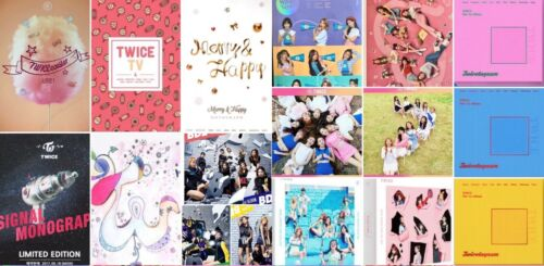 TWICE STORY PAGE 2 TWICECOASTER LANE SIGNAL YES ALBUM (SELECT) [KPOPPIN USA]