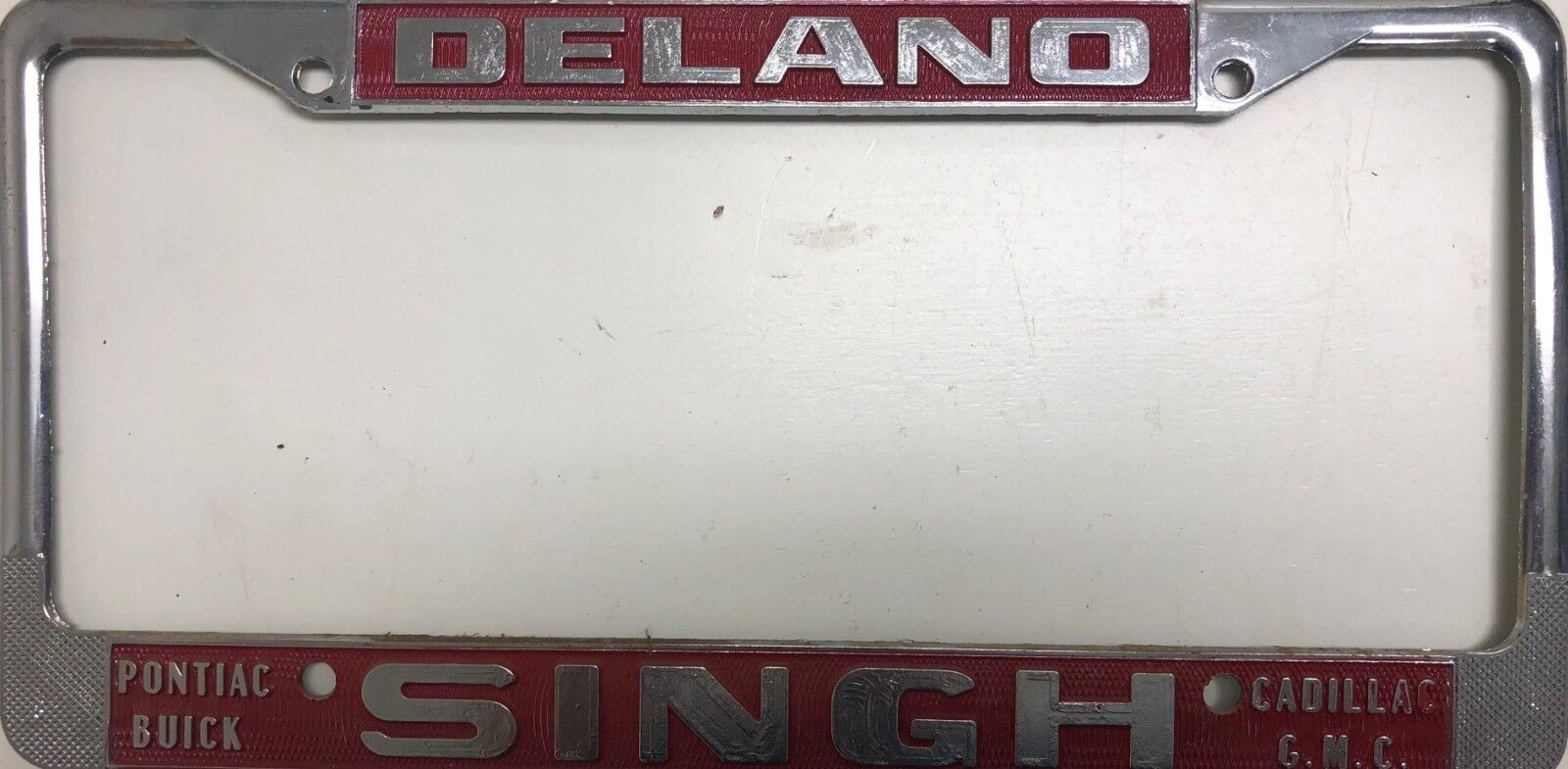 Used GMC License Plate Frames for Sale