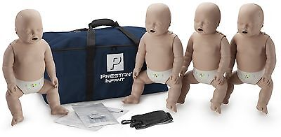 Prestan Infant Aed Cpr Manikins With Monitor - 4 Pack Medium Skin
