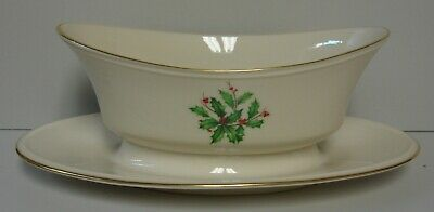 Lenox HOLIDAY (SPECIAL) Gravy Boat BEST More Items - Holiday Items