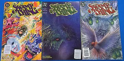 SWAMP THING lot (3) #115 #116 #117 (1992) DC Comics FINE-