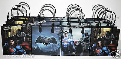 12 BATMAN VS SUPERMAN CANDY TREAT GOODY BAGS PARTY SUPPLIES DECORATION FAVORS ](Batman Party Bags)