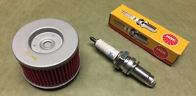 1997 Kawasaki Bayou 220 Tune Up Kit Oil Filter & Spark Plug klf220 KLF