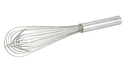 Winco Stainless Steel Piano Wire Whip, 10-Inch 10 inches (Wire Piano Whip)