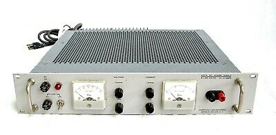 Harrison Laboratories 6271a Dc Power Supply 0 - 60 Volts 0 - 3 Amps Made In Usa