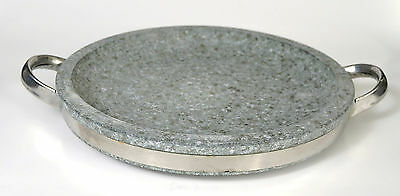 Korean BBQ Stone Grill Steak Barbecue Stove Top Pan Indoor O