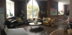 Pet friendly two level two bedroom apartment