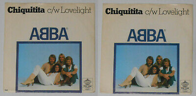 "Abba - Chiquitita/Lovelight - Sweden 7"" vinyl"